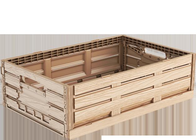 shop formular kunststoffkiste holz optik kunststoffkisten24. Black Bedroom Furniture Sets. Home Design Ideas